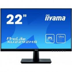 """Monitor Iiyama 54,6 cm (21,5"""") XU2292HS-B11920x1080 IPS 4ms VGA HDMI DisplayPort Zvočniki"""