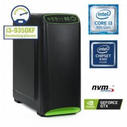 Računalnik  MEGA 4000S i3-9350KF/8GB/SSD250GB-NVMe/1TB/GTX1050Ti-4GB/Brez OS