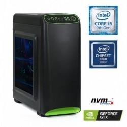 Računalnik  MEGA 4000S i5-9400F/8GB/SSD250GB-NVMe/1TB/GTX1050Ti-4GB/Brez OS